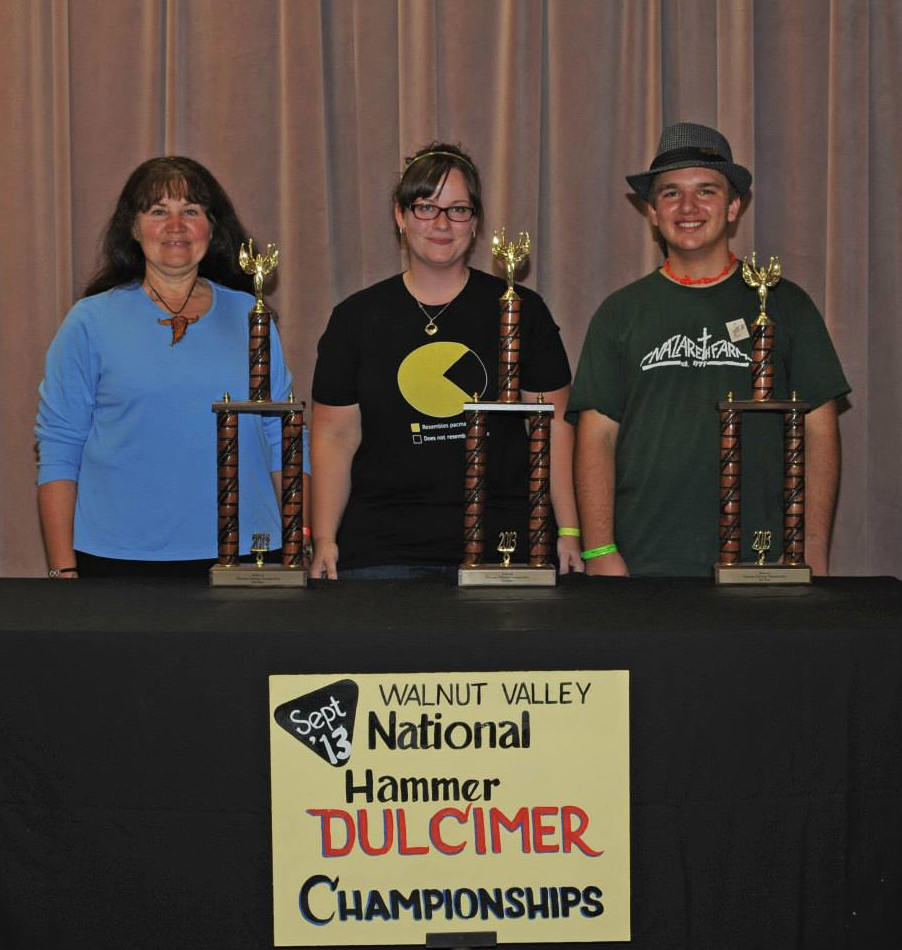 Tina Gugeler (2nd), Me, Nate Pultorak (3rd)