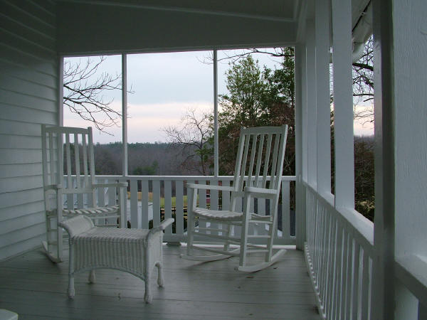 Upstairs Porch (Adjoins Suite)
