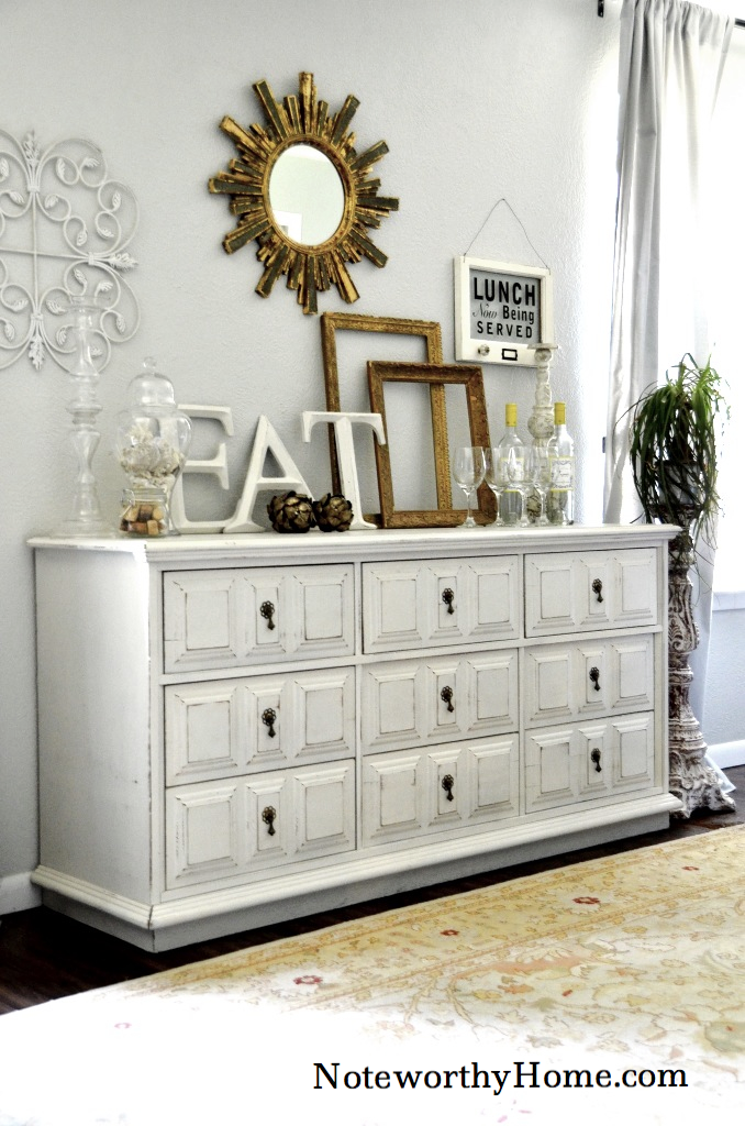 Apothecary Style Dresser