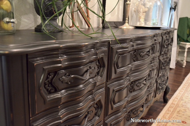 Black-Out French Provincial Dresser