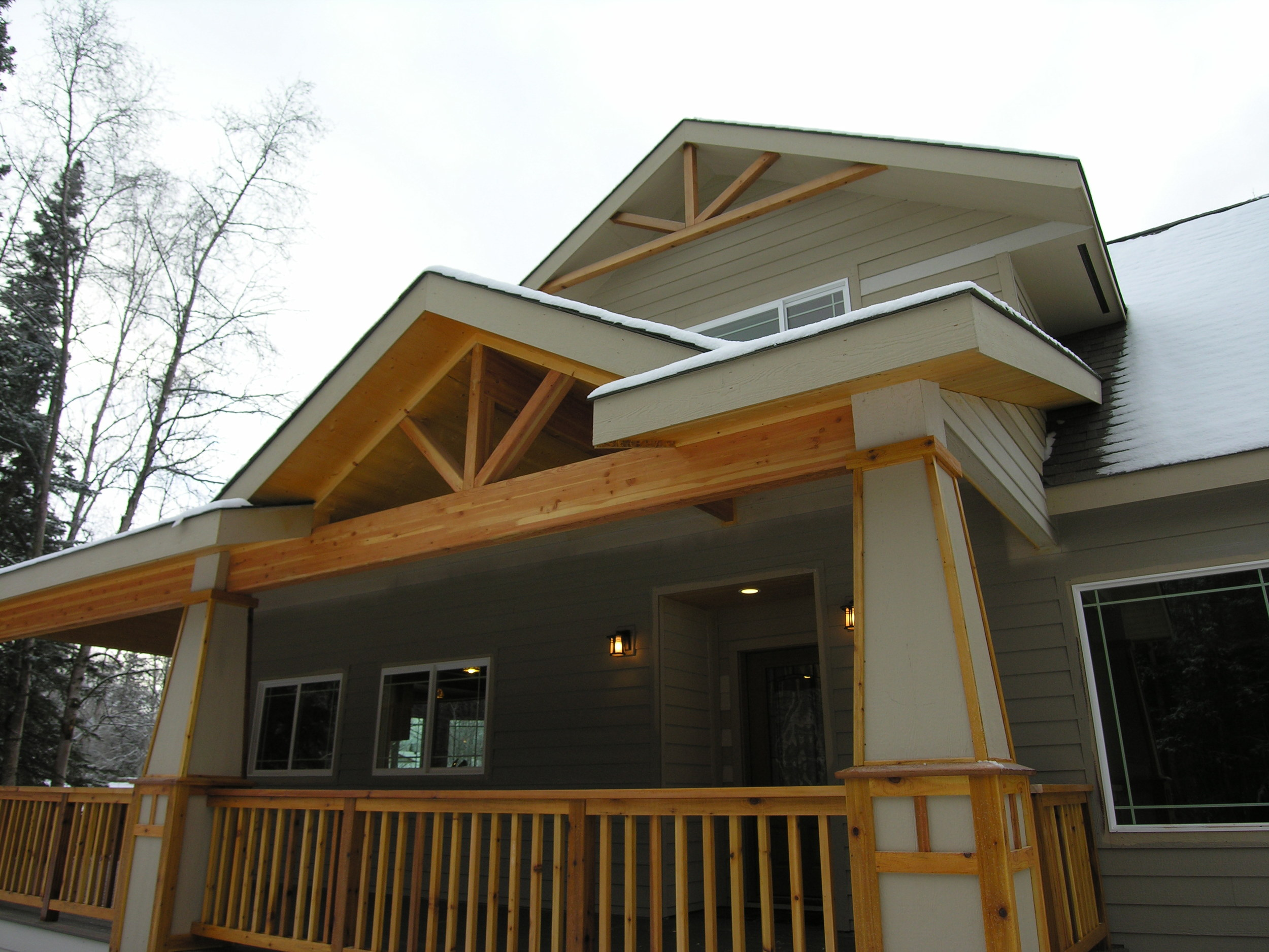 Custom Eagle River Home