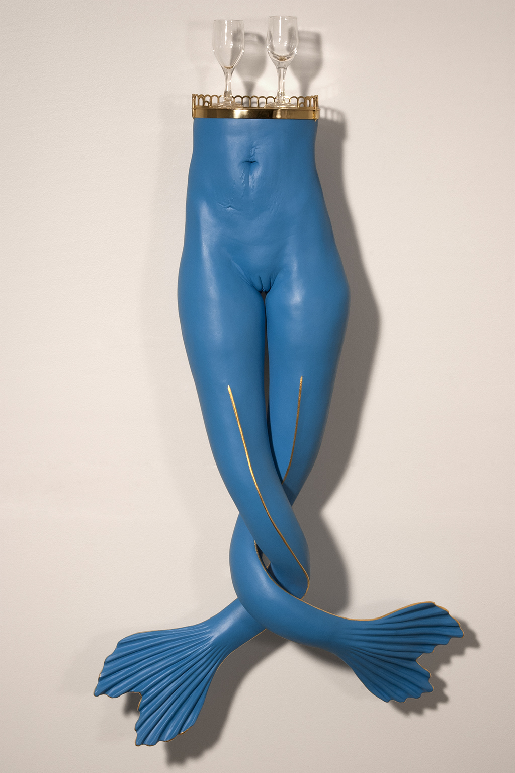Woman with Fins and Aperitif Glasses low res.jpg