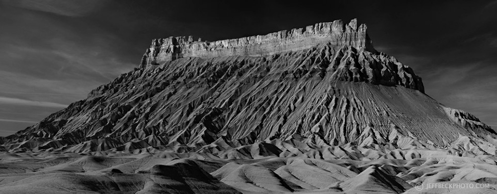 factory butte b&w.jpg