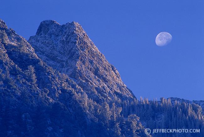 Moon and Monte Cristo