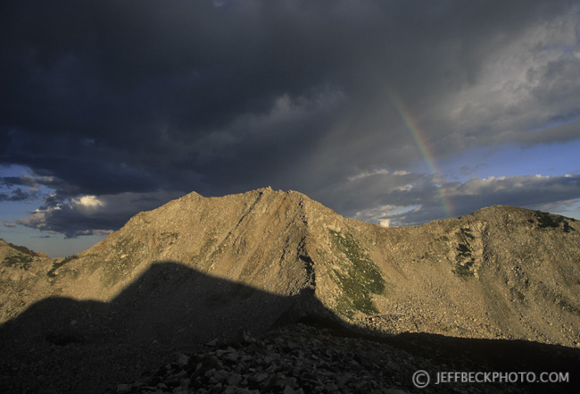 Rainbow over White Baldy
