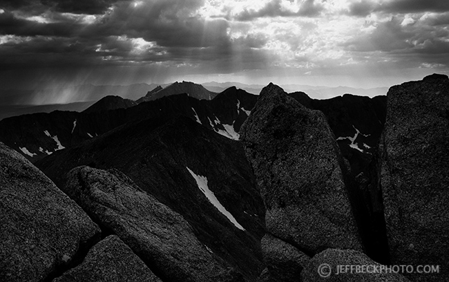 Lone Peak from the Pfeifferhorn, Lone Peak Wilderness, Utah