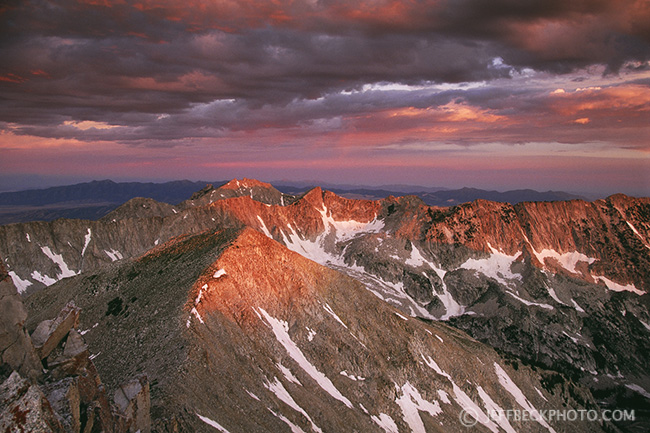 Pfeifferhorn Sunrise, Lone Peak Wilderness, Utah