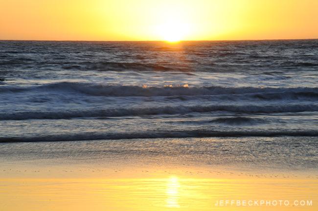 Sunset, Pfeiffer Beach, Big Sur, California