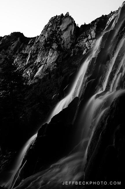 Bells Waterfall, Lone Peak Wilderness, Utah