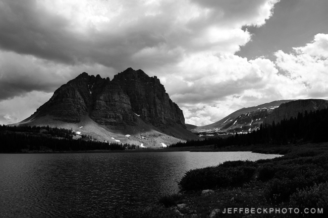 The Classic, Lower Red Castle Lake, High Uintas Wilderness, Utah