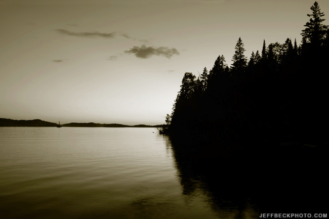 Todd Harbor Twilight