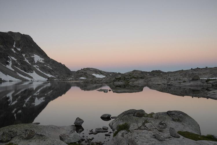 Elbow Lake dawn.