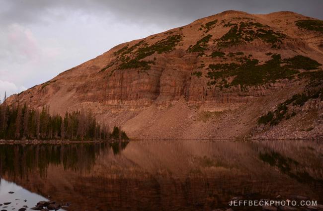 First Light at Morat Lake, Naturalist Basin, Utah