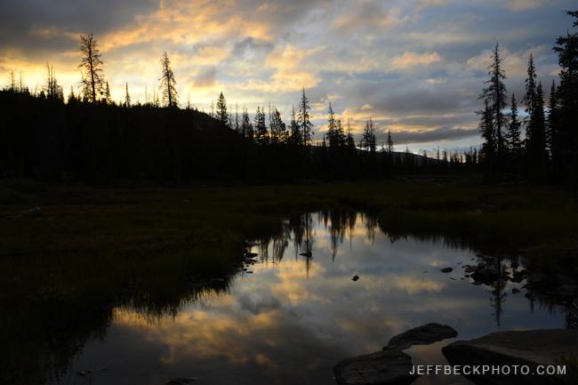 Sunrise Clouds, Naturalist Basin, Utah