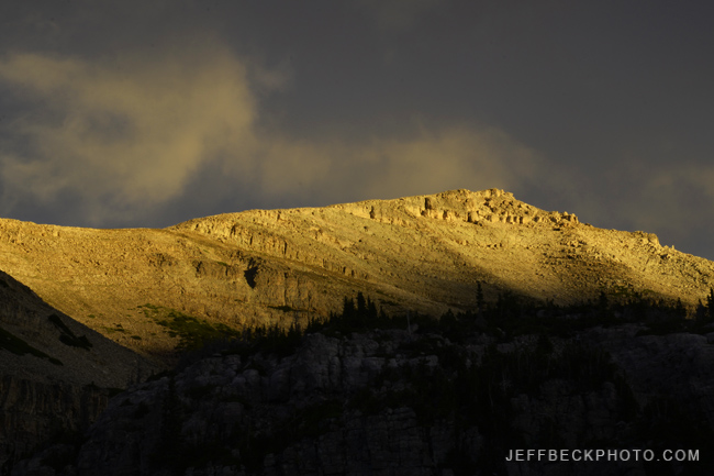 Mount Agassiz at Sunrise, Naturalist Basin, Utah