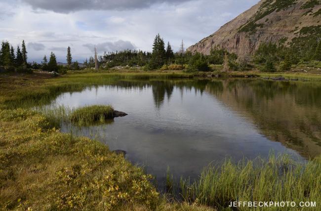 September Tarn, Naturalist Basin, Utah