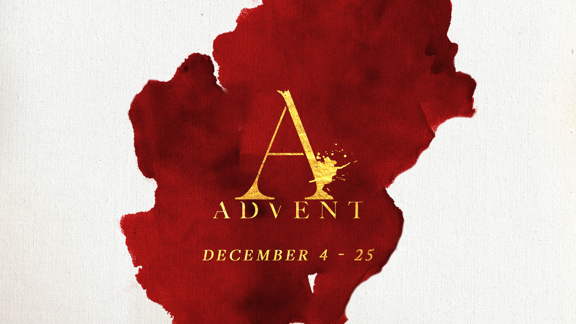 Advent Sermon Series 2016