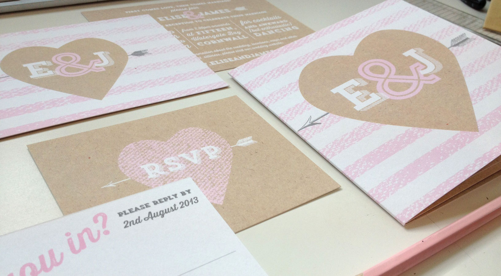 Madeleine Wedding Stationery - coming soon from Studio Seed