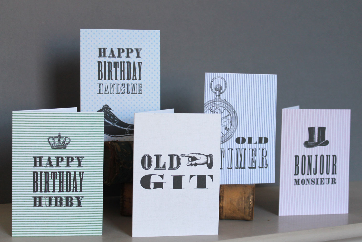 'Mr. Seed' greetings cards from Studio Seed