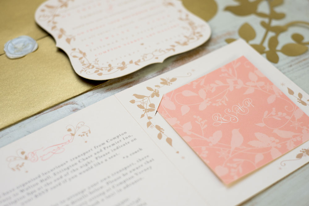 Information and RSVP detail. Photo by Holly Booth