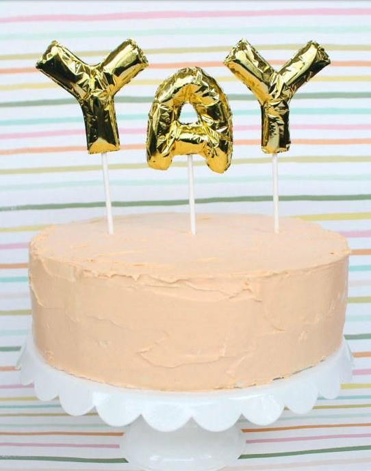 Yay Cake. Image via Pinterest