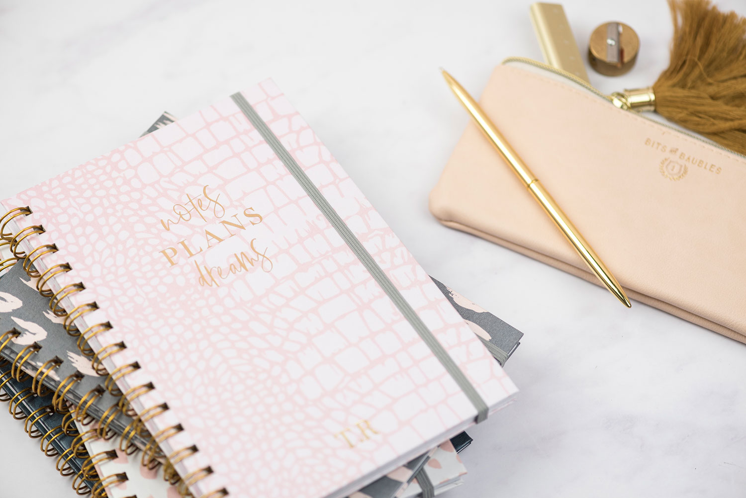 Despite what your husband may tell you, one can NEVER have too many notebooks.