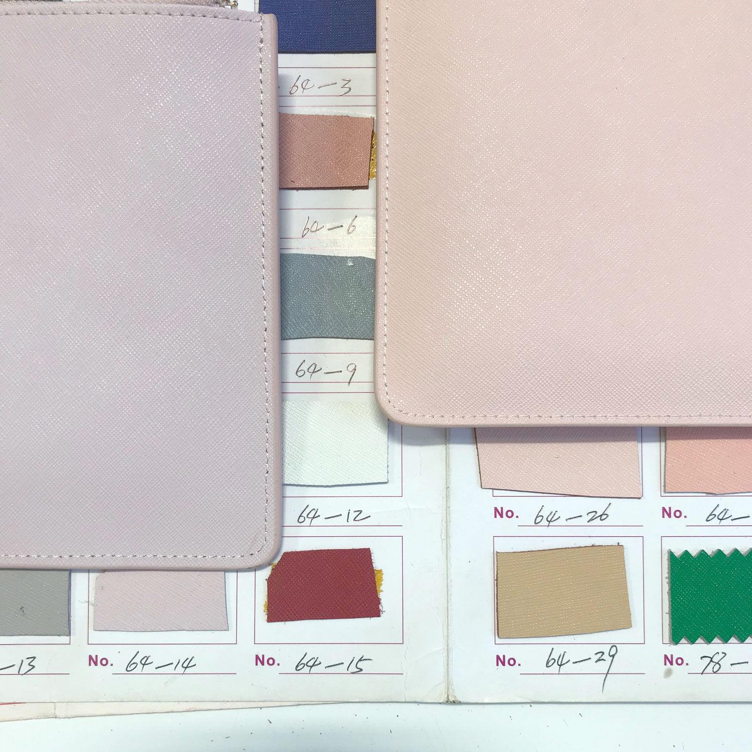 choosing leather colours