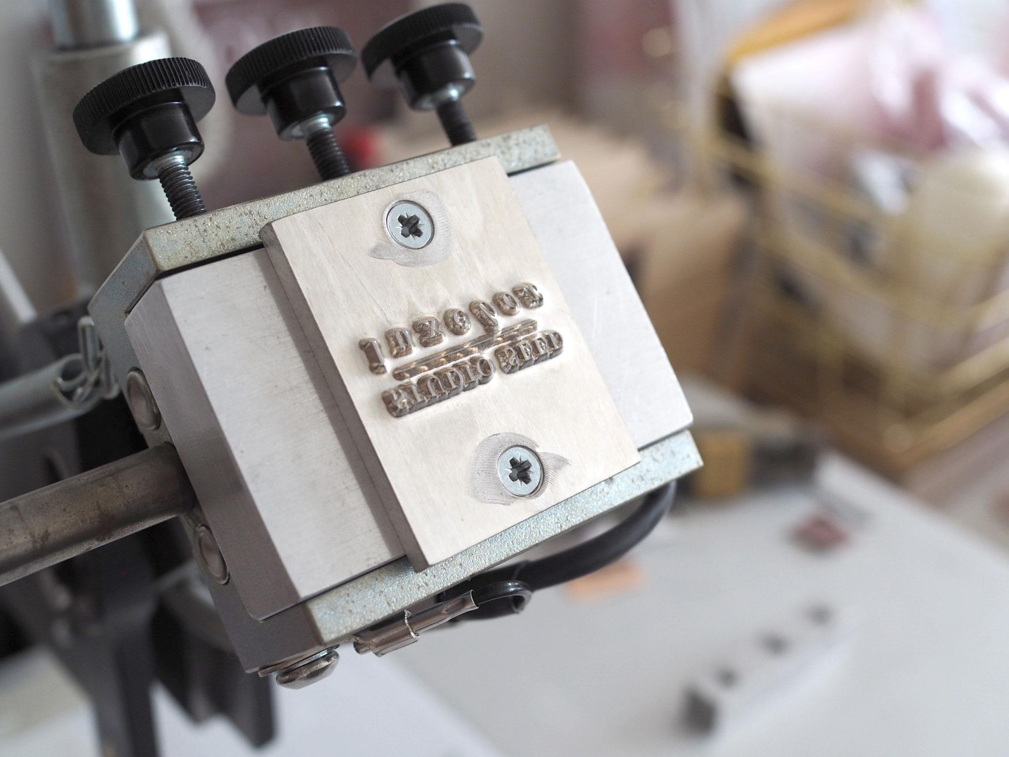 our foil press