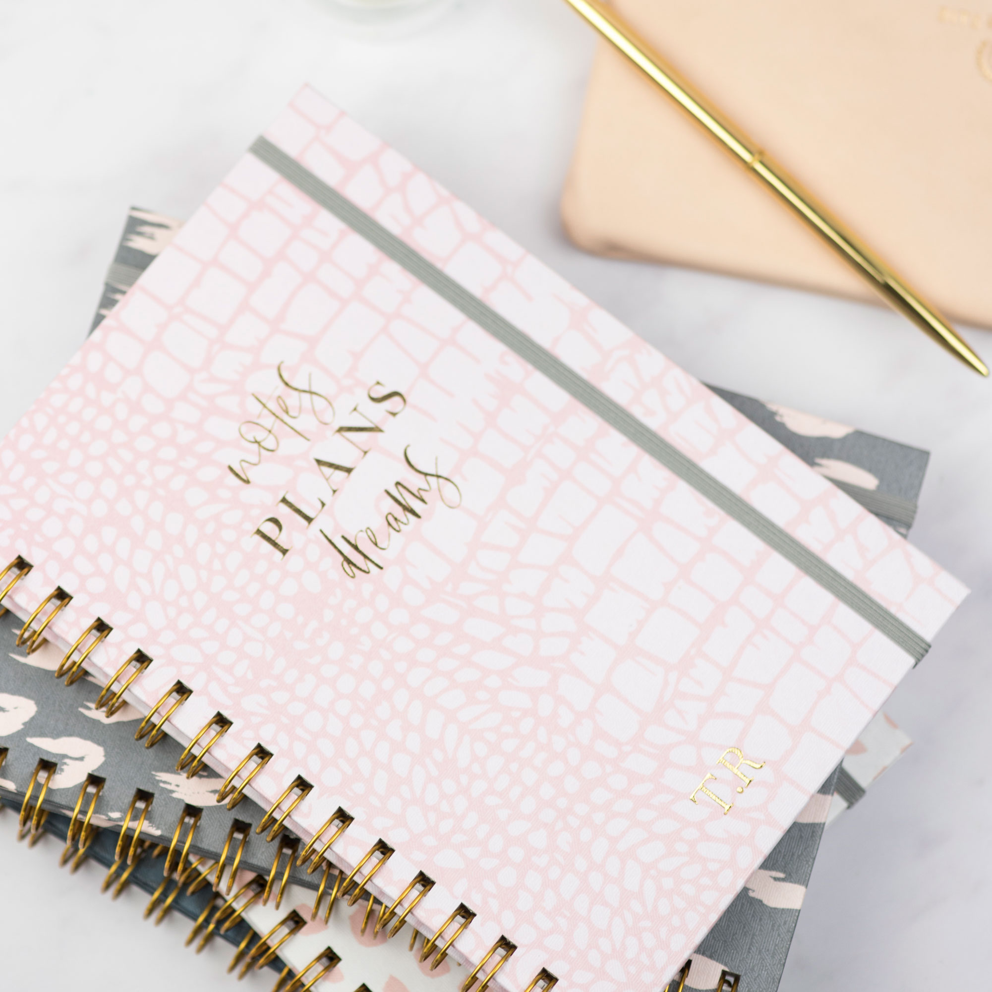A simple motivational notebook is a lovely way to encourage someone's passions!
