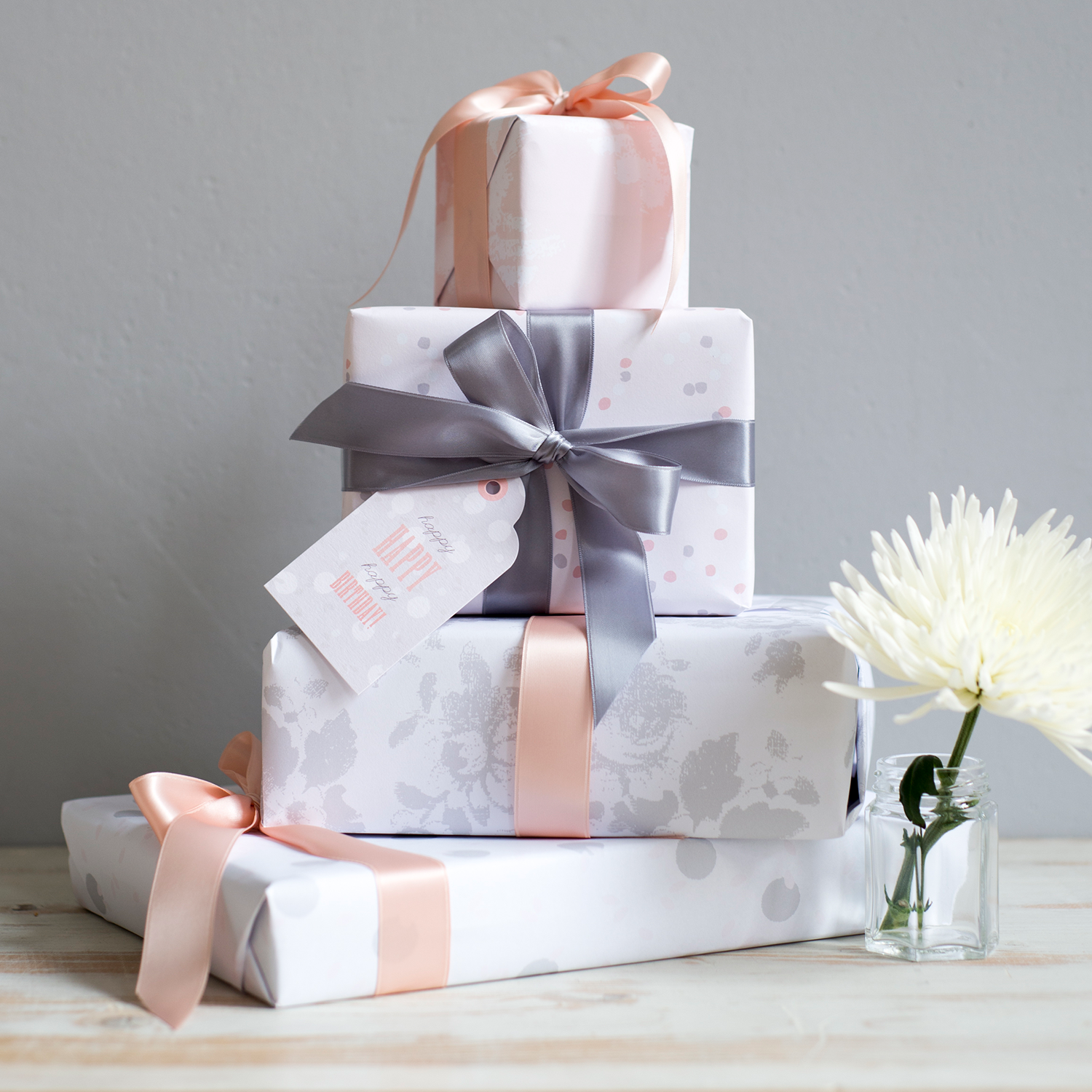Image by Holly Booth Photography of Studio Seed Gift Wrap