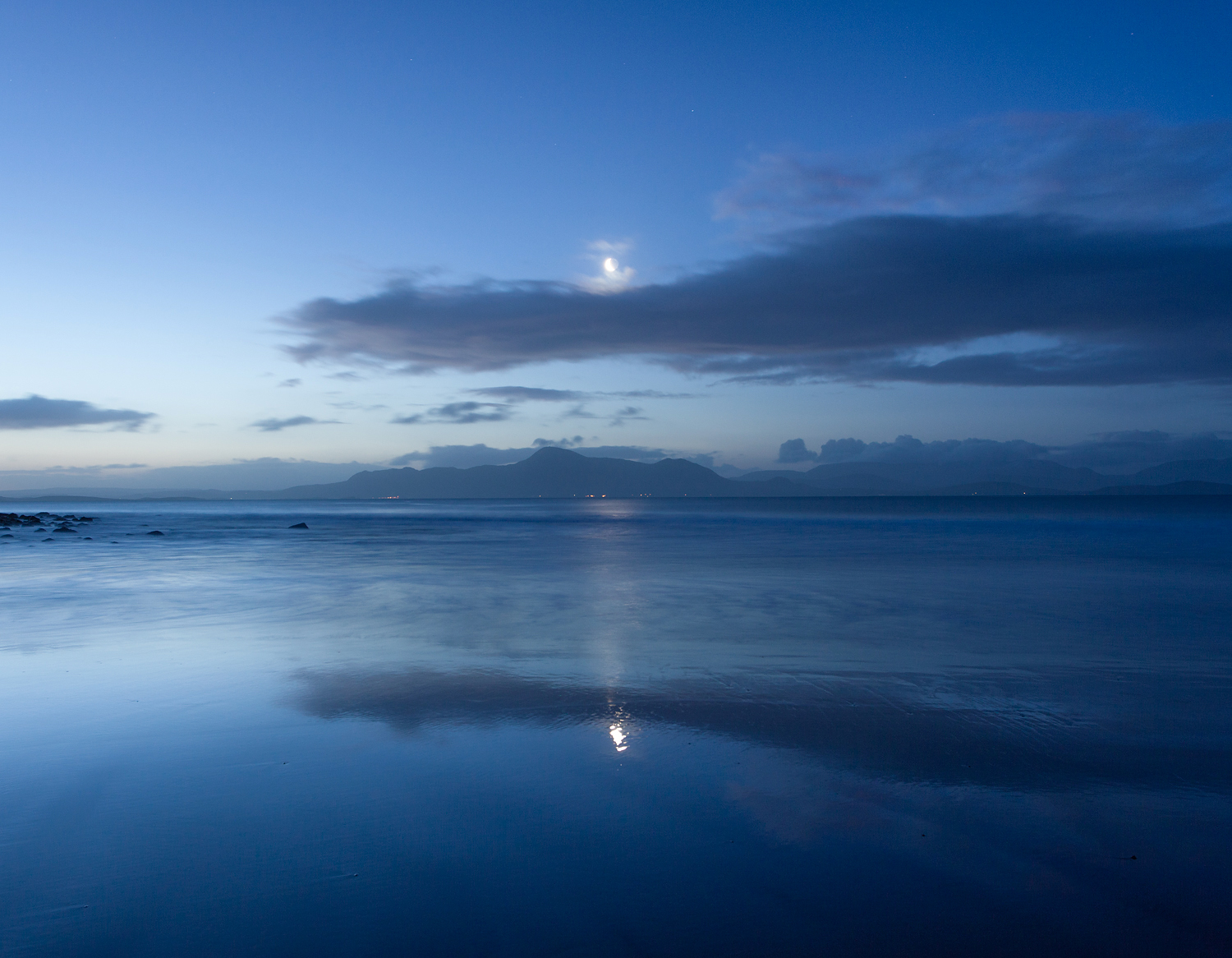 Moon over Mulranny
