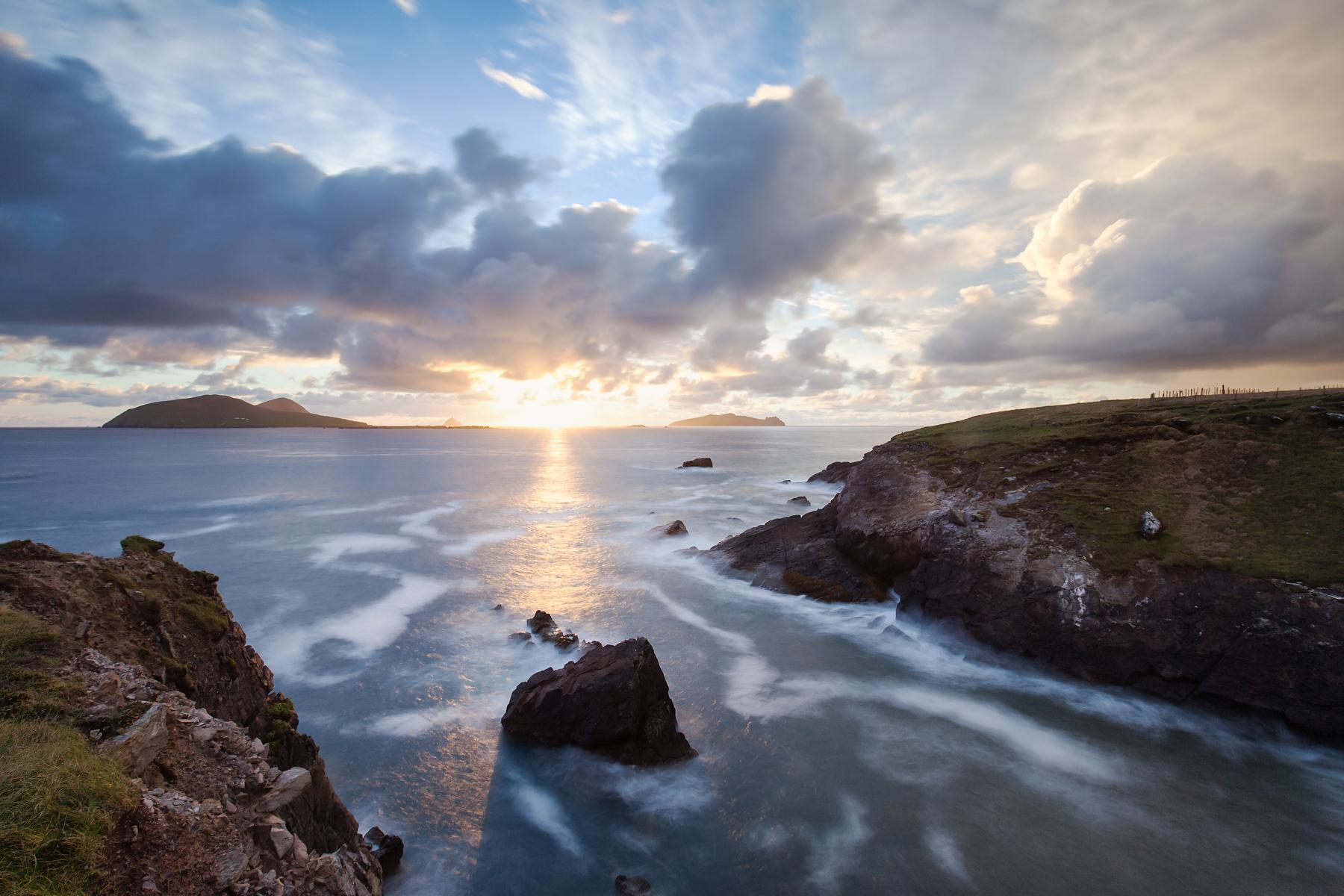 Blaskett Island Sunset, Kerry Ireland