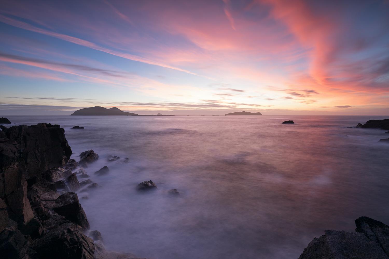 Sunset, Blaskett Islands