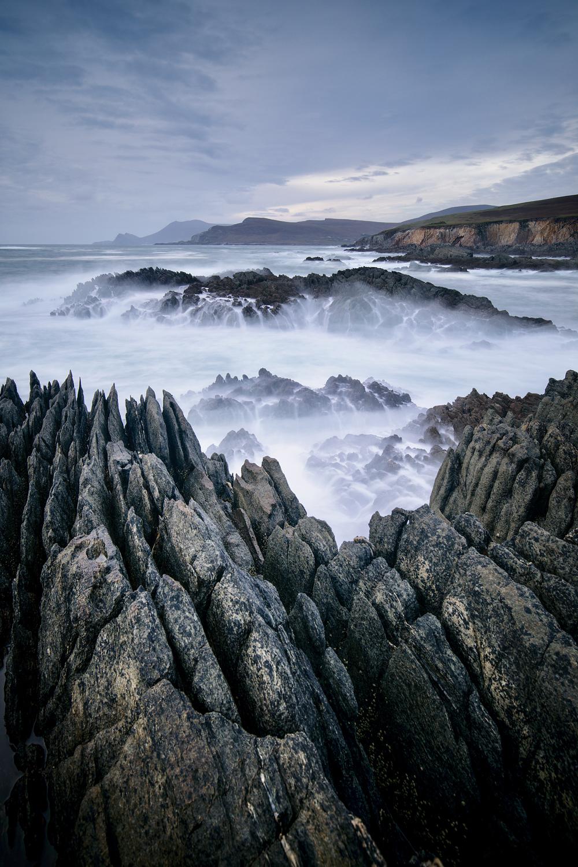 Achill Coast - Cracked Earth