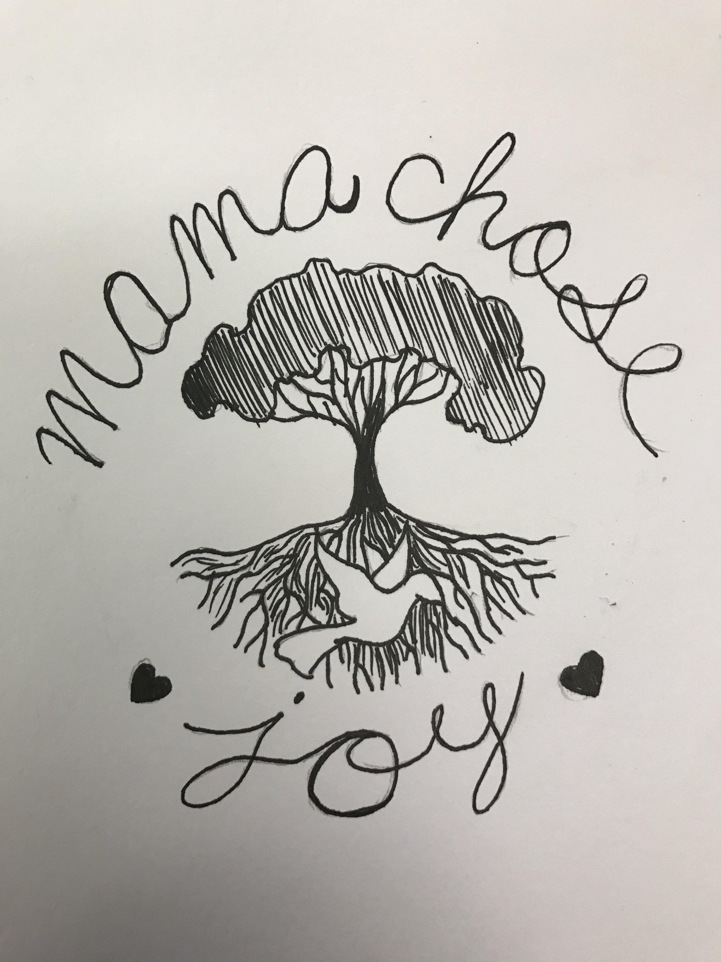 Mama Chose Joy Logo