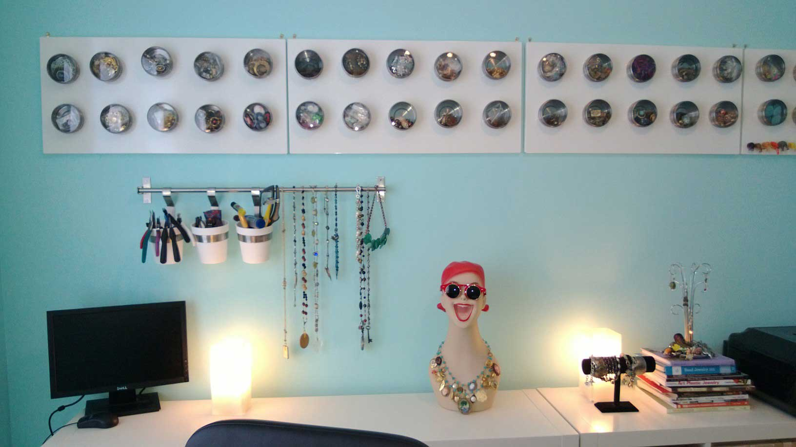Red's happy her home's decluttered!