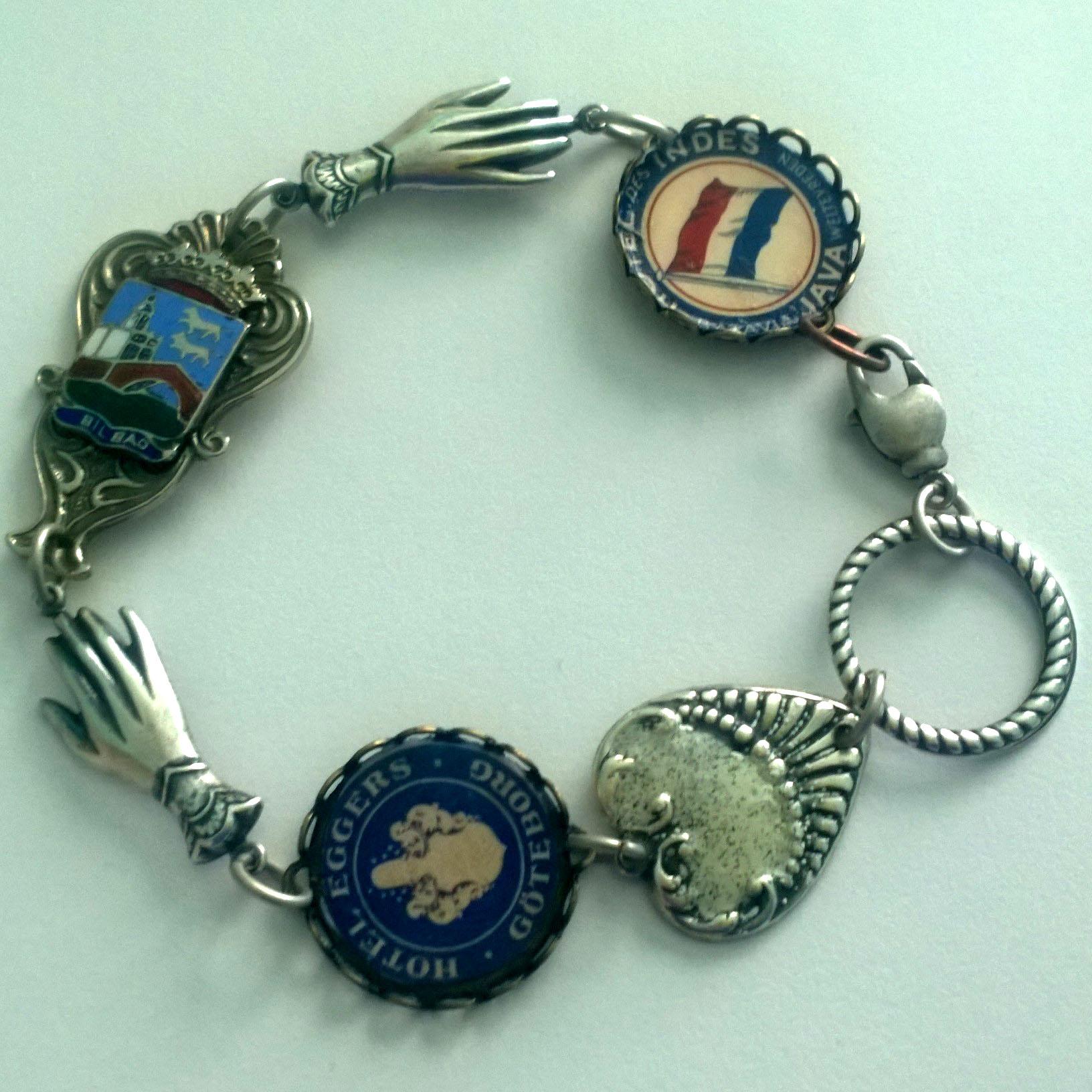 First attempt at Travel link bracelet.