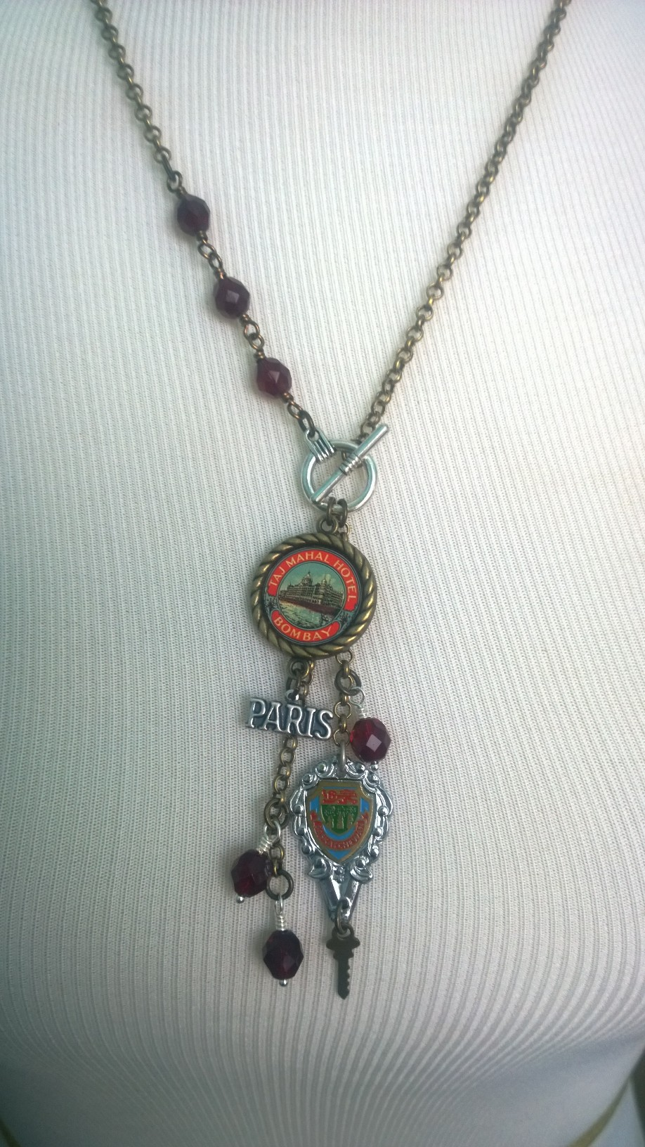 Travel tassel necklace