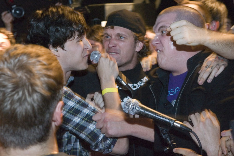 Ezra Koenig guest appearance with Fucked Up