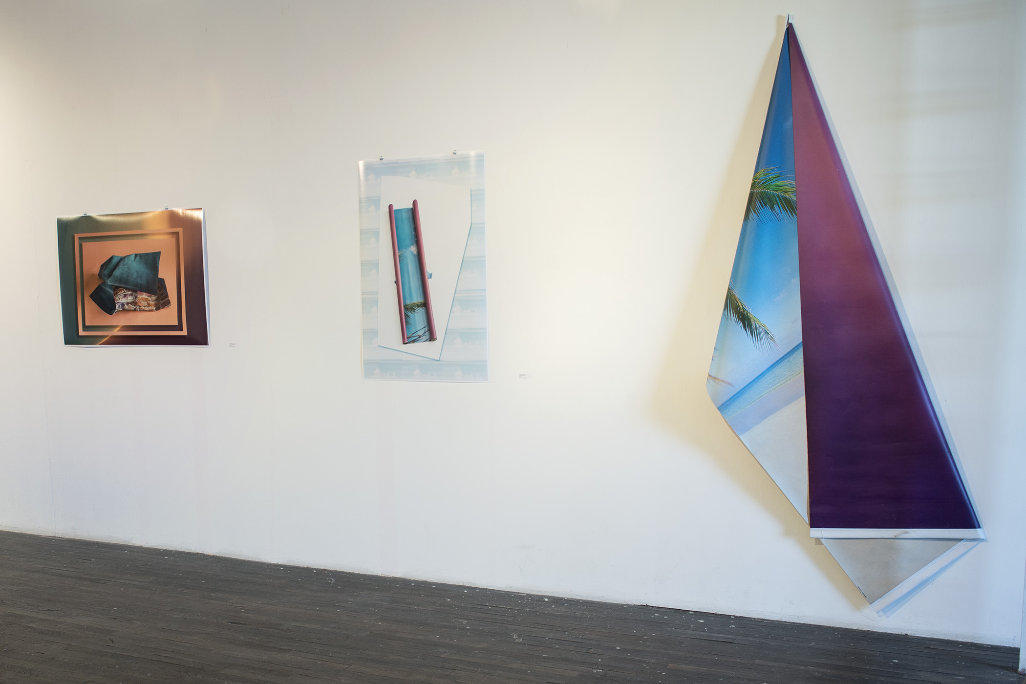 Surrounds installed at 500X Gallery