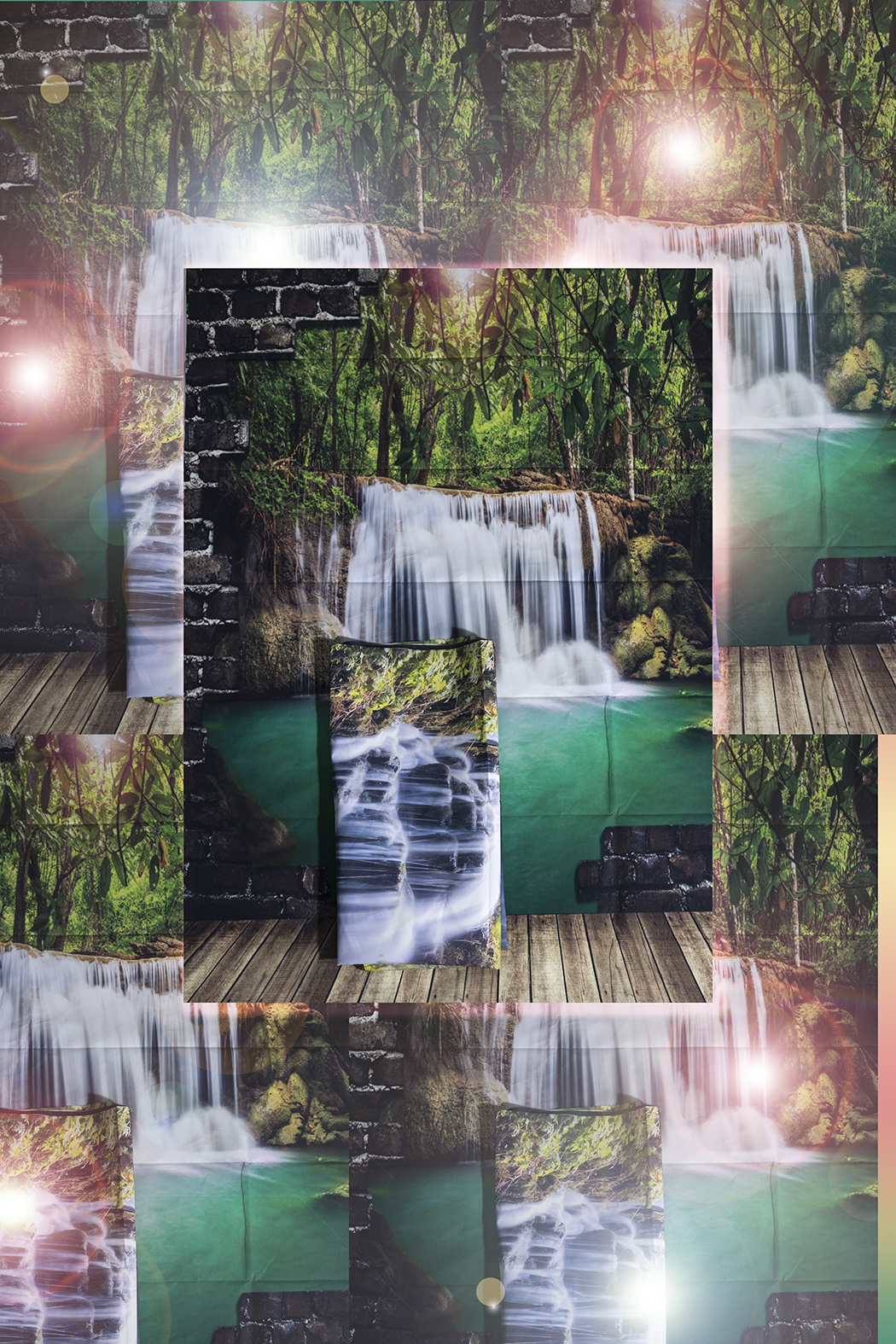 Tropical Falls / Forest Falls I