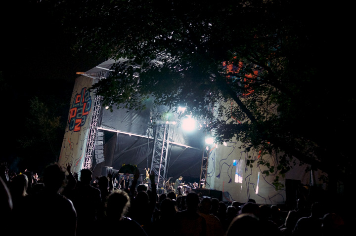 The Grove stage