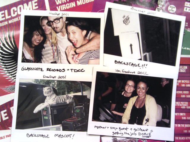 Glassnote Records crew