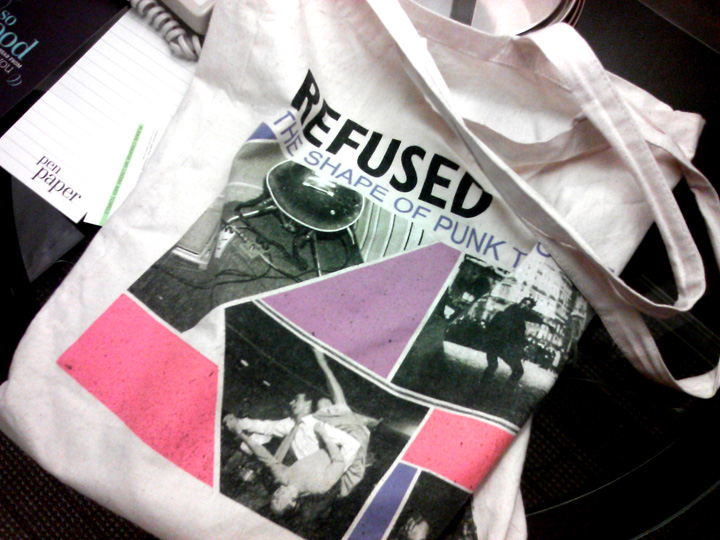 My lucky tote bag