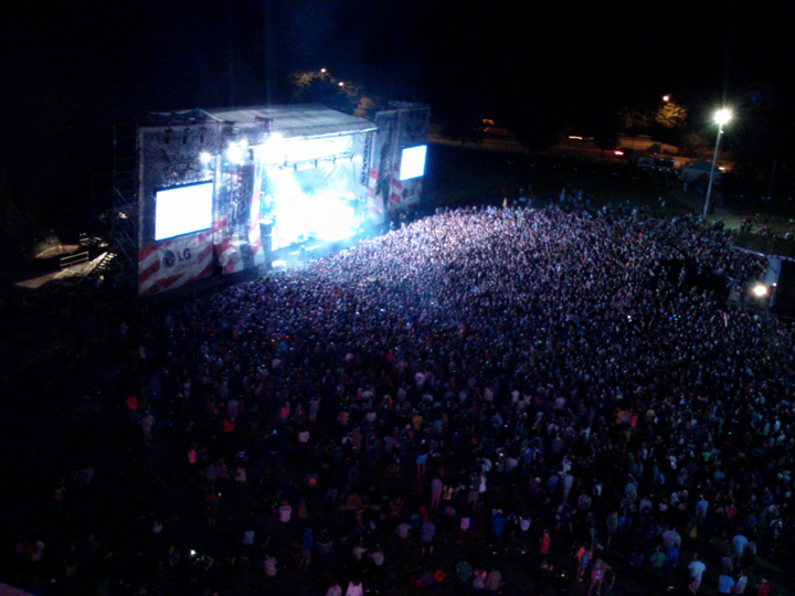 M83 from the ferris wheel