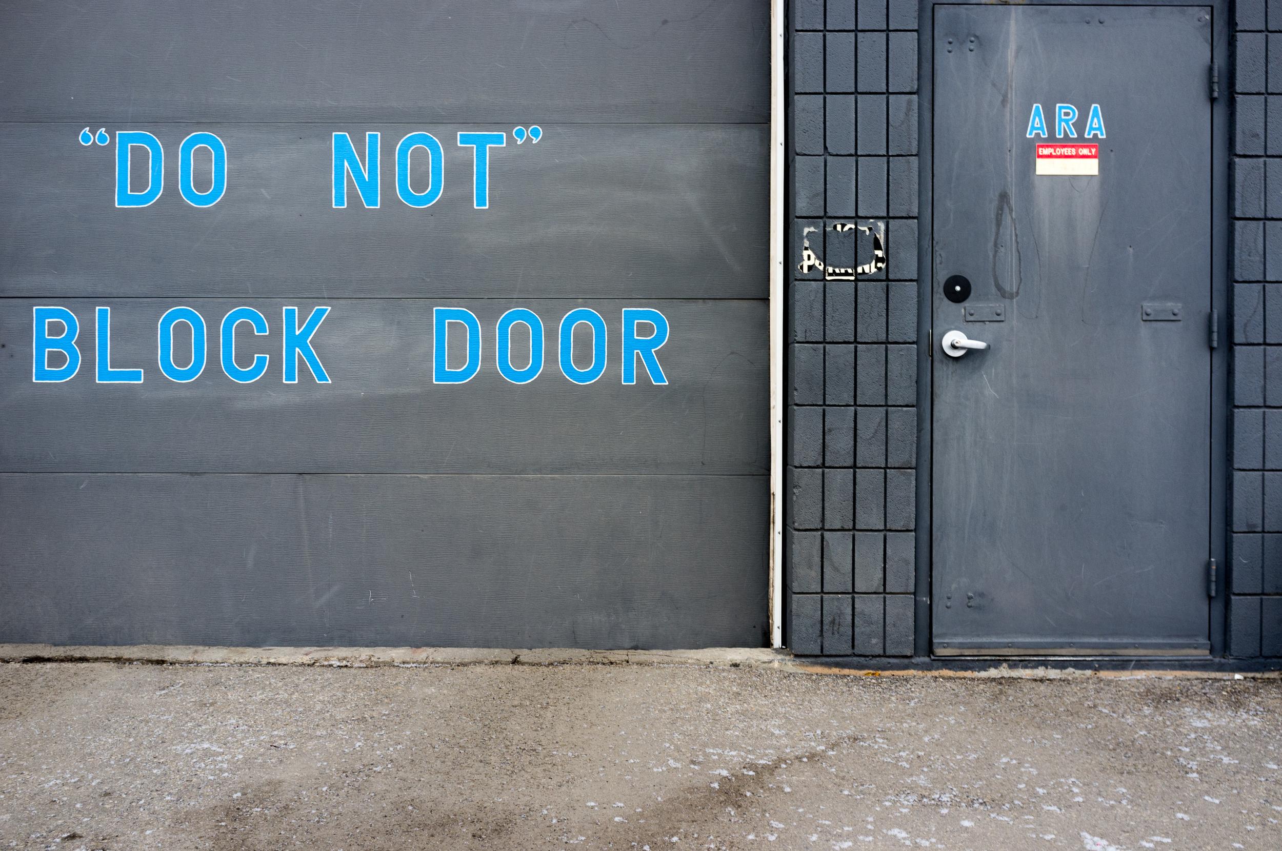 Manchester, Calgary, Alberta. 2013.