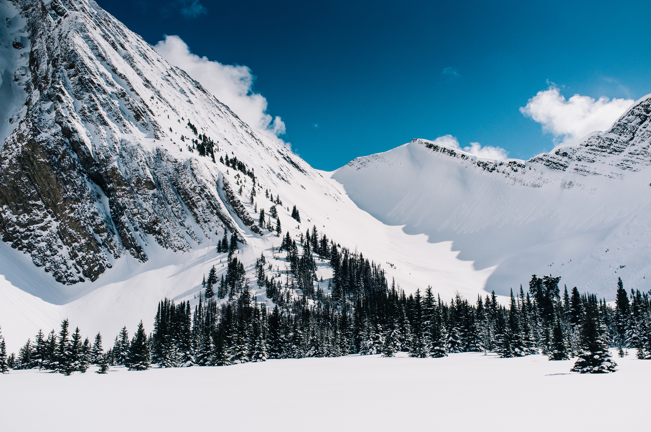 Mount Chester. Peter Lougheed Provincial Park, Alberta. March, 2013.