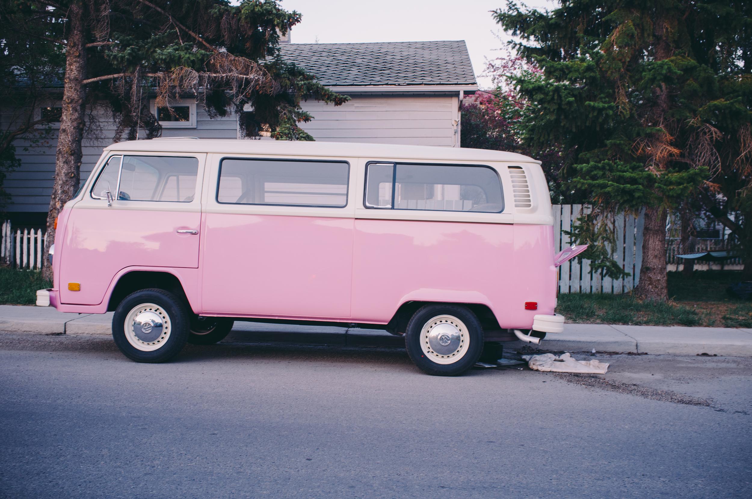 VW Type-2. Altadore, Calgary, Alberta.