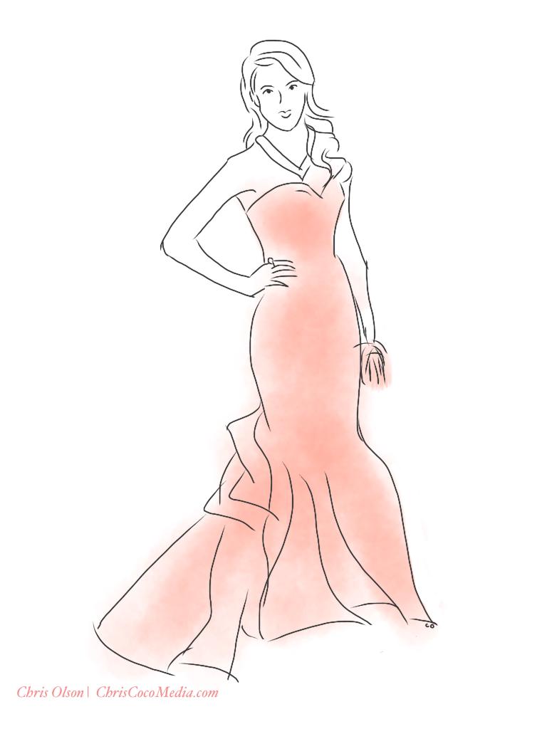 Jessica Alba. Golden Globes 2013