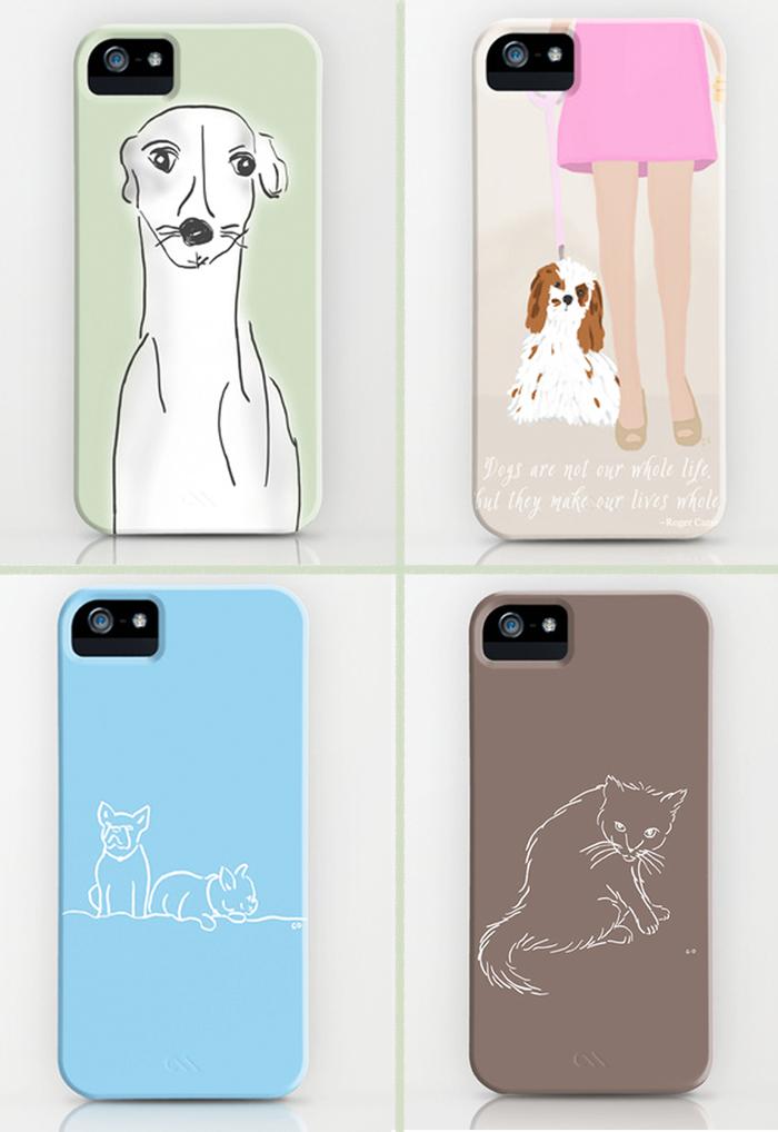 iPhone case artwork by Chris Olson.